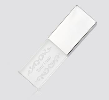 Crystal USB Flash Drives